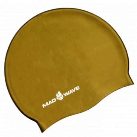 Шапочка для плавания Mad Wave Metal Solid Silicone M0535050 4930
