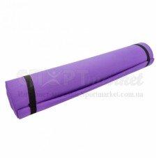 Коврик для фитнеса и йоги 6 мм YG-056