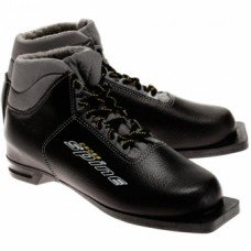 Ботинки лыжные SPINE 75 мм Cross кожа