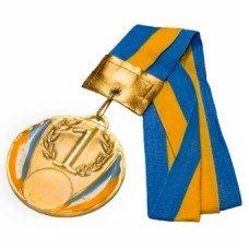 Медаль С-2526 золото 50 мм