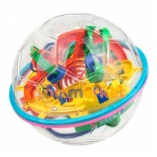 Головоломка шар-лабиринт Intellect Ball Soccer 100 шагов 923B