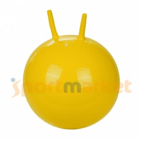 Мяч попрыгун с рожками Profit 45 см 5193