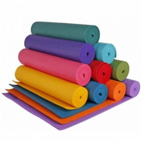 Коврик для фитнеса и йоги 6 мм YG-066 5312