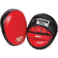 Лапы боксерские Green Hill Super FMS-5004 кожа