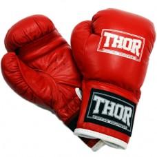 Боксерские перчатки Thor Junior 513 (Leather) Red