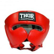 Шлем боксерский THOR 716 Leather RED