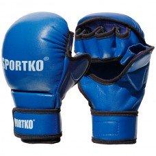 Перчатки кожаные Sportko ПК7