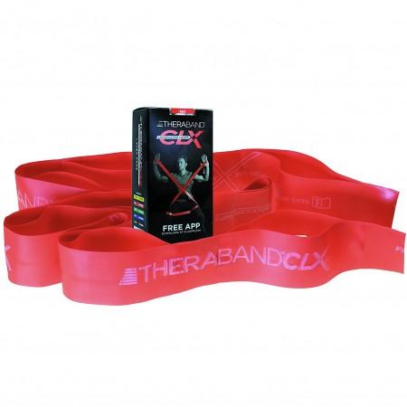Эспандер-лента с петлями Thera-Band CLX 22,85м Red - Medium 12779