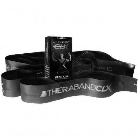 Эспандер-лента с петлями Thera-Band CLX 22,85м Black - Special Heavy 12782