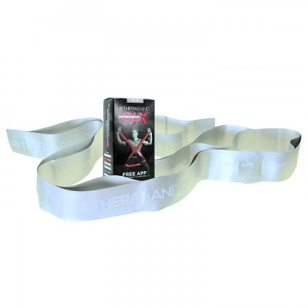Эспандер-лента с петлями Thera-Band CLX 22,85м Silver - Super Heavy 12783