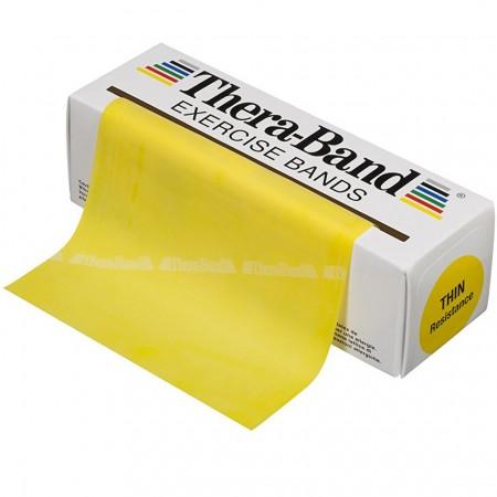 Эспандер-лента Thera-Band Yellow - Thin 5,5 м 50020