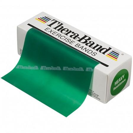 Эспандер-лента Thera-Band Green - Heavy 5,5 м 50040