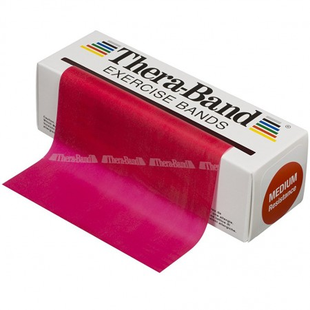 Эспандер-лента Thera-Band Red - Medium 5,5 м 50030