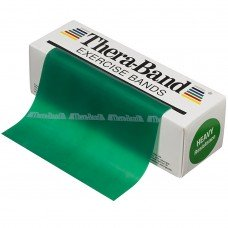 Эспандер-лента Thera-Band Green - Heavy 5,5 м 50040