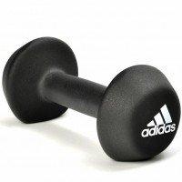 Гантель неопреновая Adidas 4 кг Black ADWT-10024
