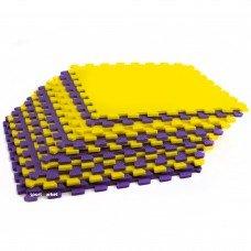 Коврик-мат Пазл набор 12шт 48,5x48,5 UR C-5069