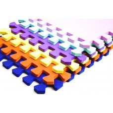 Мягкий коврик Пазл 10 мм Evaline 450*450