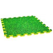 Мягкий коврик Пазл 10 мм Evaline , Трава 450*450
