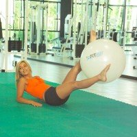 Фитнес-мяч Original Pezzi Hi-Fit Maxafe 75 см