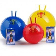 Мяч-попрыгун с рожками Super Globetrotter 65 см