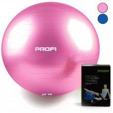Мяч для фитнеса (фитбол) AntiBurst, Profi 55 см 1539