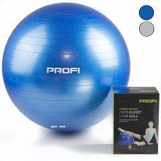 Мяч для фитнеса (фитбол) AntiBurst, Profi 65 см 1540