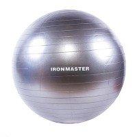 Мяч фитнеса IronMaster 65 см с Anti-burst system