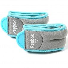 Утяжелители Reebok 0,5 кг х 2шт (для ног) RAWT-11073BL