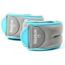 Утяжелители Reebok 1 кг х 2шт, (для ног) RAWT-11074BL