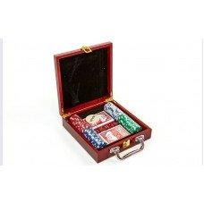 Покерный набор на 100 фишек IG 6641