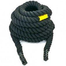 Канат для кроссфита 9м Combat Battle Rope UR R-6228-9 (хлопок)