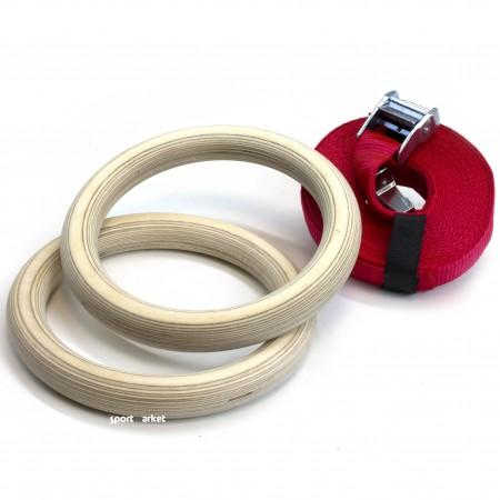 Кольца гимнастические для кроссфит KPK 5253
