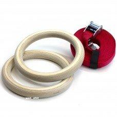 Кольца гимнастические для кроссфит KPK