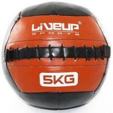 Мяч для кроссфита набивной 5 кг Wall Ball LS3073-5