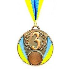 Медаль с украинской символикой C-4339-3 бронза