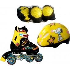 Роликовые коньки Amigo Rooney Combo Yellow