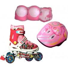 Роликовые коньки Amigo Rooney Combo Pink