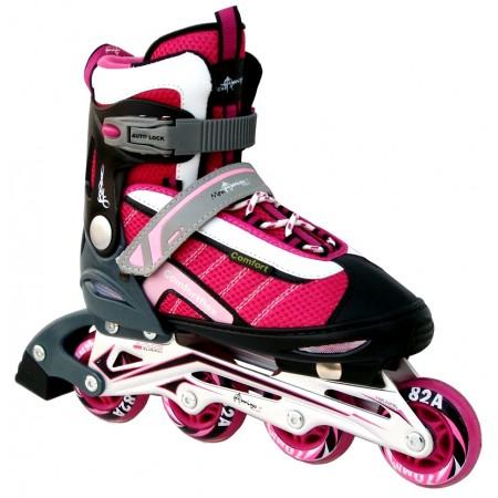 Роликовые коньки Amigo Combo Comfortflex Pink 4993