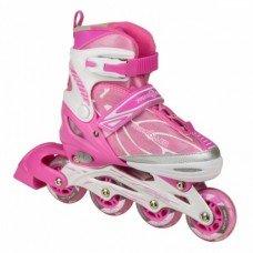 Роликовые коньки Profi A 6037M Pink