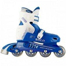 Роликовые коньки раздвижные СК Solo Blue