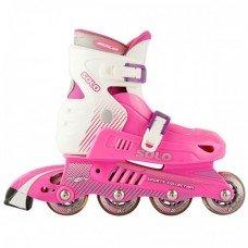 Роликовые коньки раздвижные СК Solo Pink
