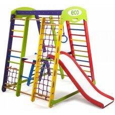 Детский спортивно - игровой комплекс Акварелька Plus 2