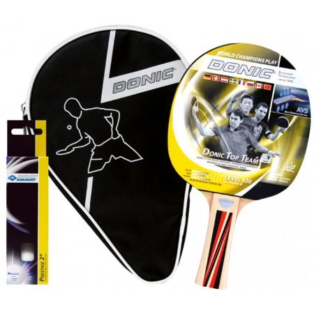 Набор для пинг-понга Donic Top Team 500 Gift set (ракетка+чехол+3мяча)