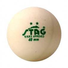 Мячи для настольного тенниса Stag 2* 3шт white TTBA-400