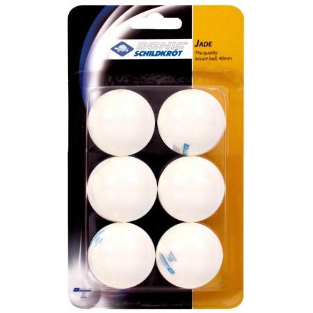 Мячи для настольного тенниса Donic Jade Ball 6 шт. white