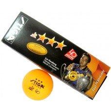 Мячи для настольного тенниса Stiga Liu Guoliang 3* 3 шт 416303