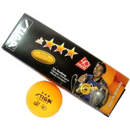 Мячи для настольного тенниса Stiga Liu Guoliang 3* 3 шт