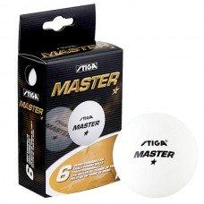 Мячи для настольного тенниса Stiga Master 1* 6 шт