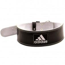 Пояс тяжелоатлетический кожаный Adidas ADGB-12234
