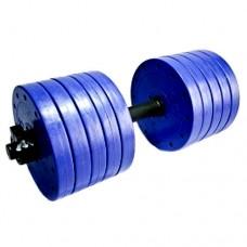 Гантели пластиковые наборные Титан 2шт по 25 кг